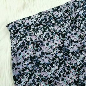 H&M Divided Floral Button Front Skirt